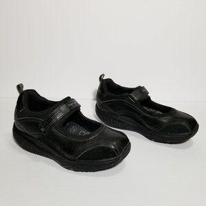 SKECHERS Shape Ups 24867 Black Mary Jane Sneakers